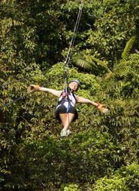 Canopy Zipline Eco-Adventure Tour from San Jose