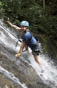 Jaco Rainforest Adventure: Waterfall Climb and Ziplining Tour