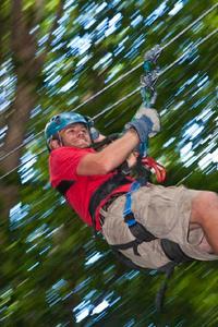 St Lucia Shore Excursion: Rainforest Aerial Tram and Zipline Canopy Tour