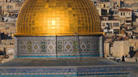 Christmas Eve in Israel: Jerusalem Sightseeing Tour from Tel Aviv with Dinner and Midnight Mass Viewing in Bethlehem