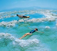 Float in the Dead Sea on this private, full-day trip*