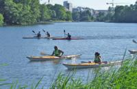 Central Stockholm City Kayak Tour