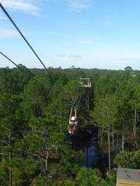 Zipline Adventure at Forever Florida