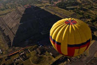 Teotihuacan Pyramids Hot-Air Balloon Tour