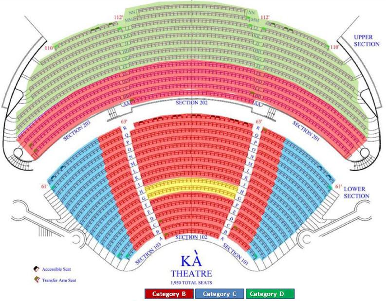Ka Cirque Du Soleil Seating Chart Brokeasshome Com