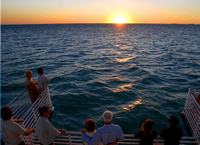 Key West Glass-Bottom Boat Tour with Sunset Option*