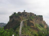 Orvieto and Civita di Bagnoregio from Rome with Quality Electric-assist Bicycle