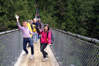Vancouver Shore Excursion: City Tour and Capilano Suspension Bridge