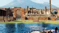 Pompeii and Vesuvius Select Boat Experience from Sorrento