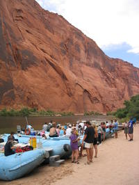 Glen Canyon Float Trip on Colorado River from Sedona