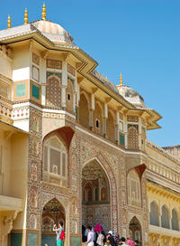 Private Tour: Amber Fort and Jal Mahal Including Jeep Ride