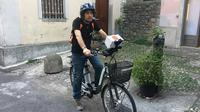 Lake Como e-Bike and iPad Experience