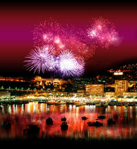 Private Luxury Yacht Fireworks Cruise from Monaco with Personal Skipper