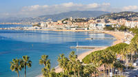 Croisette beach in Cannes*