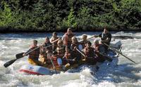 Juneau Shore Excursion: Mendenhall Glacier Rafting Tour