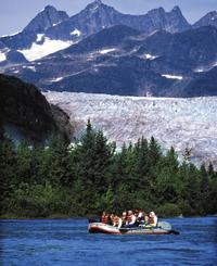 Mendenhall Glacier Rafting Tour from Juneau
