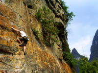 Small-Group Yangshuo Rock-Climbing Adventure