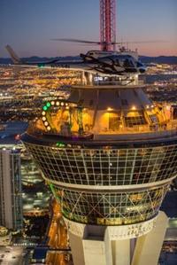 Las Vegas Helicopter Night Flight with VIP Transportation