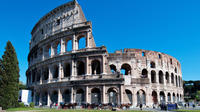 Luxury transfer from Rome to Civitavecchia via Colosseum and Roman Forum to