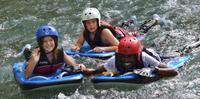 River Boarding on the Rio Bueno in Jamaica
