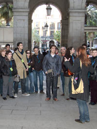 'The Shadow of the Wind' Walking Book Tour in Barcelona