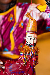 Jaipur Puppet Show and Dinner with Private Transport