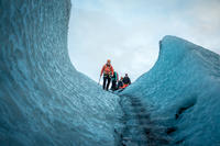 Day Trip from Reykjavik: Small Group Glacier Hiking & Ice Climbing Adventure on Solheimajokull Glacier.