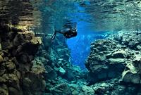 Small group Snorkeling adventure in the crystal clear waters of Silfra from Reykjavik