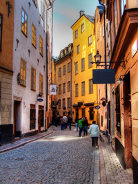 Explore historical Stockholm on a private walking tour