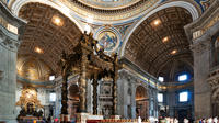 No-Wait Dedicated Access: St. Peters Basilica Guided Tour