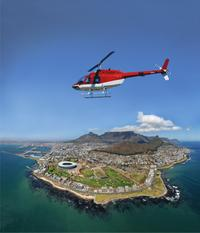 Cape Town Helicopter Tour: Indian and Atlantic Oceans