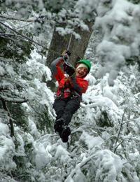 Cerro Lopez Zipline Adventure from Bariloche