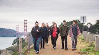 San Francisco Coastal Walking Tour from the Golden Gate Bridge to Cliff House
