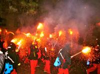 Experience Catalonia: Correfoc (Fire Running) Festival Tour from Barcelona