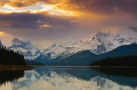 Spirit Island Cruise on Jasper's Maligne Lake