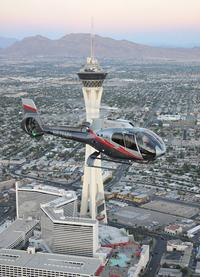 Las Vegas Strip Flight By Helicopter 2017