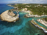 Cancun Super Saver: Isla Mujeres All-Inclusive Catamaran Plus Xcaret Park