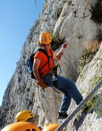 Huasteca Canyon Via Ferrata Zipline and Rapelling Adventure from Monterrey