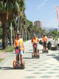 Malaga Shore Excursion: City Segway Tour