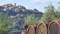 Enogastronomic Grand Tour of Montalcino Pienza and Montepulciano from San Gimignano