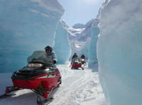 Snowmobile Tour From Anchorage