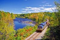 Saratoga and North Creek Fall Foliage Scenic Train Ride