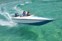 Drive a speedboat in Punta Cana!*