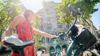 Barcelona Electric Bike Gaudi or Bohemian Neighborhoods Tour