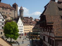Stroll through the Old Town of Nuremberg!