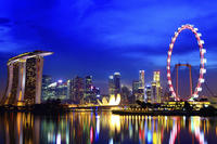 Singapore Hop-On Hop-Off Night Tour with River Cruise*