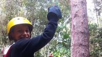 Combo Tour: Ziplines Adventure and Christmas Lights Tour of Medellín