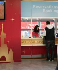 Shared Arrival Transfer: Paris Airports to Disneyland Paris Hotels
