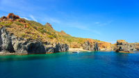 Escursione di un giorno delle Isole Eolie da Taormina: Stromboli e Panarea