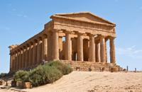 Valley of the Temple in Agrigento*